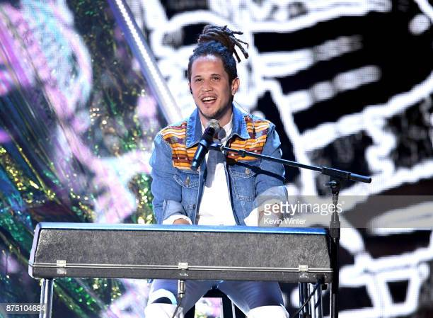 Vicente Garcia performs onstage at the 18th Annual Latin Grammy Awards at MGM Grand Garden Arena on November 16 2017 in Las Vegas Nevada
