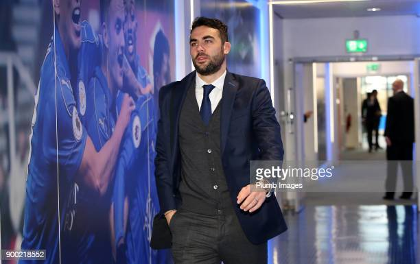 Vicente Iborra ahead of the Premier League match between Leicester City and Huddersfield at King Power Stadium on January 01st 2018 in Leicester...