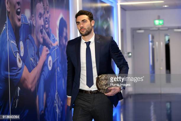 Vicente Iborra ahead of the Premier League match between Leicester City and Swansea City at King Power Stadium on February 03rd 2018 in Leicester...
