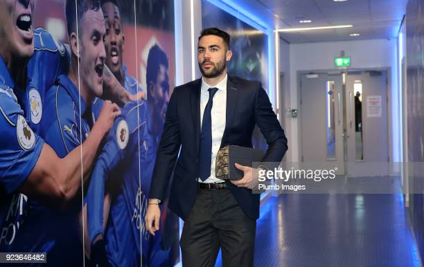 Vicente Iborra during the Premier League match between Leicester City and Stoke City at King Power Stadium on February 24th 2018 in Leicester United...