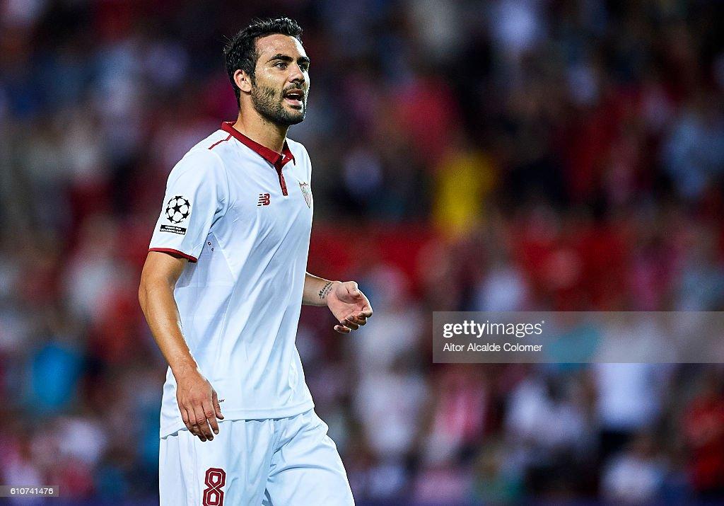 Sevilla FC v Olympique Lyonnais - UEFA Champions League