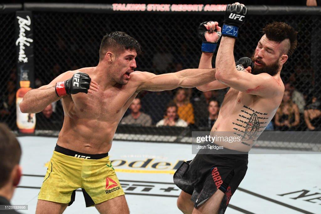 UFC Fight Night: Luque v Barberena : News Photo