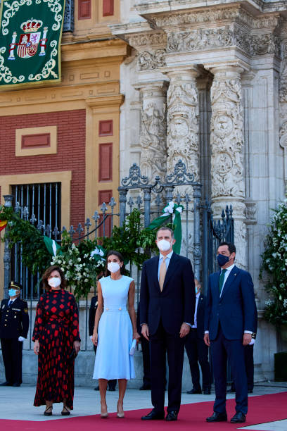 ESP: King Felipe Of Spain Receives For The First Time Andalucia's Medal Of Honour