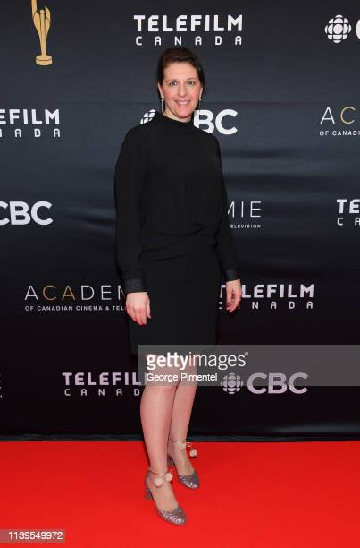 VicePresident Cinema Emmanuelle Héroux attends the 2019 Canadian Screen Awards Broadcast Gala at Sony Centre for the Performing Arts on March 31 2019...