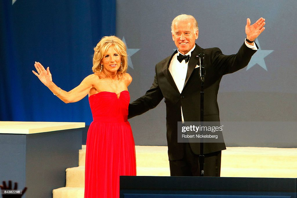 Biden Home States Ball : News Photo