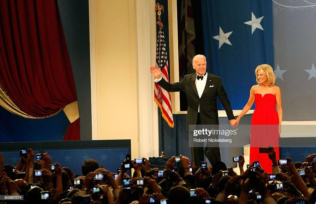 Biden Home States Ball : News Photo
