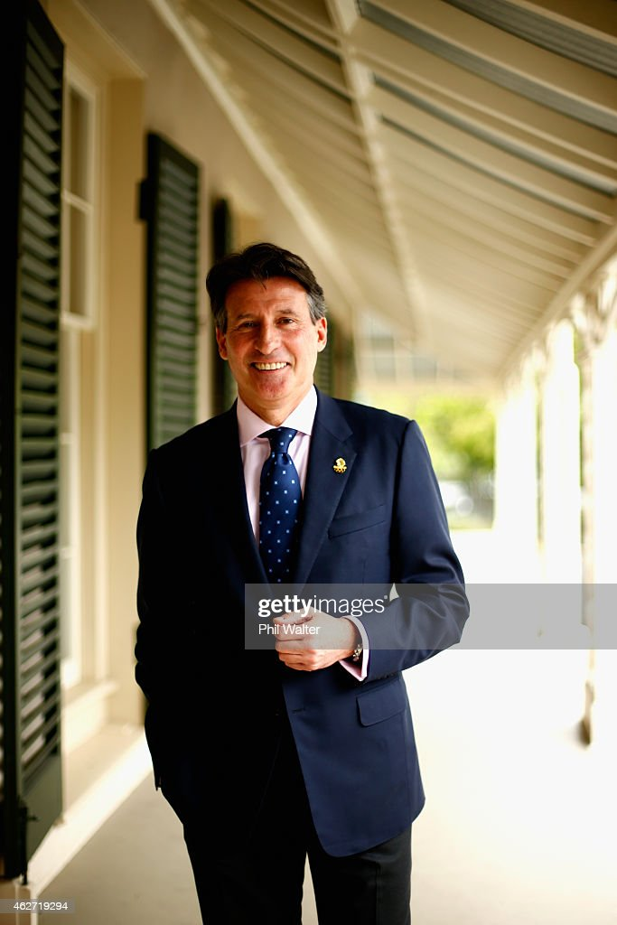 Lord Sebastian Coe Visit To New Zealand
