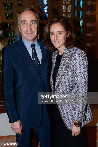 VicePresident of Christies Europa Francois Curiel and guest attend the Kering Heritage Days Opening Night at 40 Rue de Sevres on September 14 2018 in...