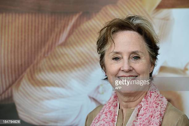 VicePresident of Slow Food international Alice waters poses at the Slow Food's Salone del Gusto and Terra Madre on October 25 2012 in Turin Untitled...