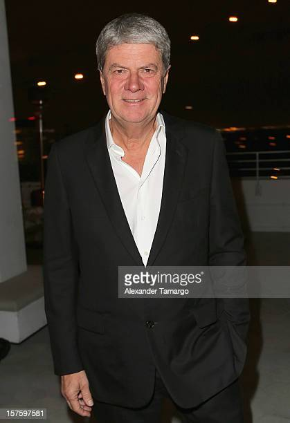 Vice-President of the Fondation d'Entreprise Louis Vuitton pour la Creation Yves Carcelle attends the Baku Magazine Party at Soho Beach House during...
