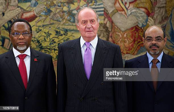 VicePresident of the Republic of South Africa Kgalema Petrus Motlanthe King Juan Carlos I of Spain and Federal Democratic Republic of Ethiopia Prime...