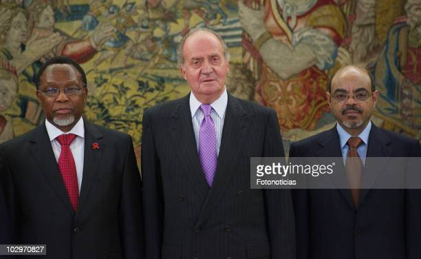 Vice-President of the Republic of South Africa Kgalema Petrus Motlanthe, King Juan Carlos I of Spain and Federal Democratic Republic of Ethiopia...