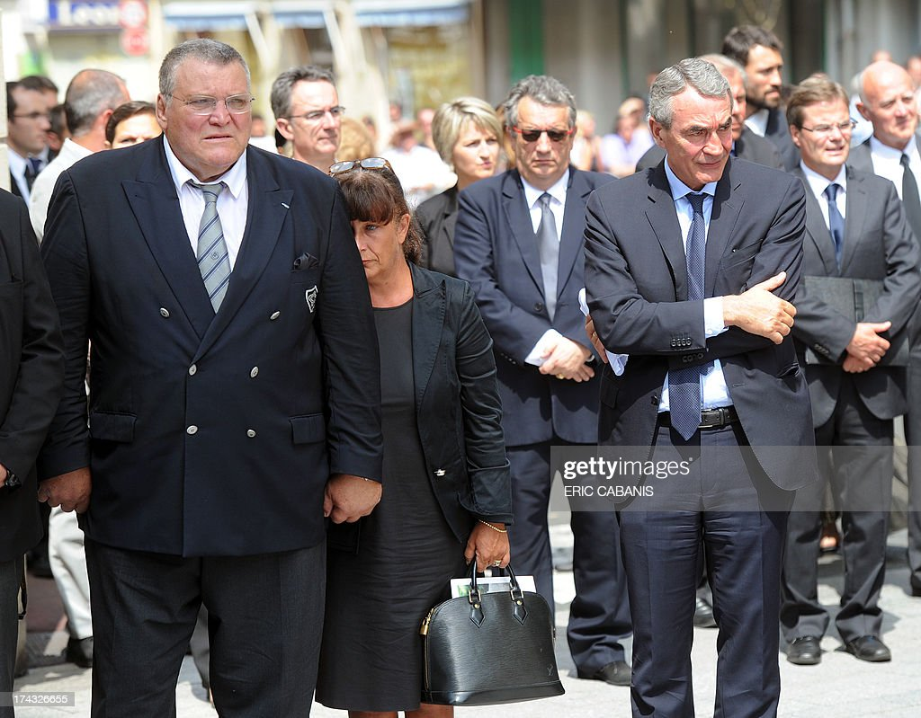 vice-president pierre fabre sa  pierre-yves revol and french former    news photo
