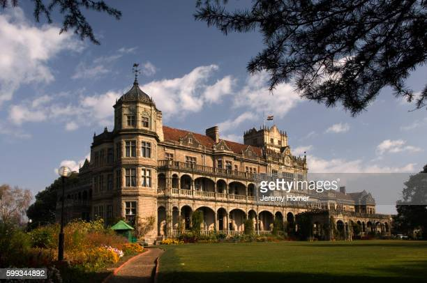 viceregal lodge - shimla stock pictures, royalty-free photos & images