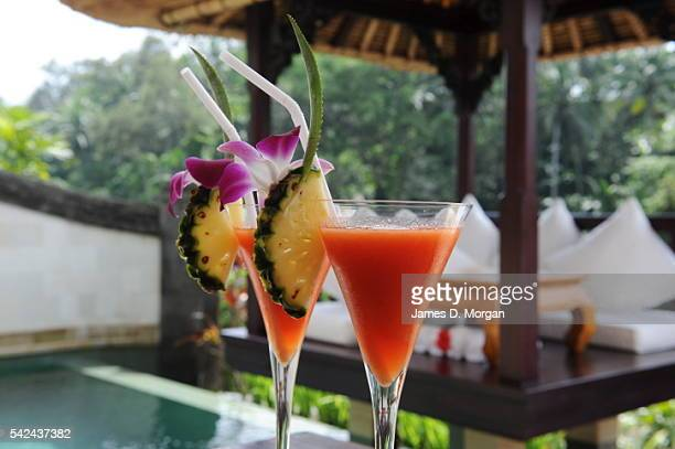 Viceroy Hotel Drink on September 17 2010 in Bali Indonesia