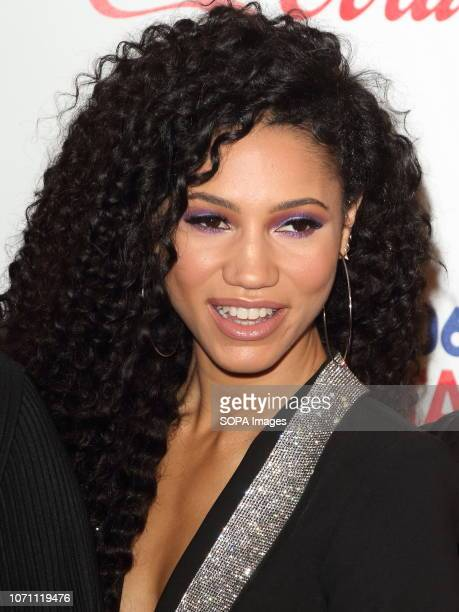 Vick Hope at Capital's Jingle Bell Ball with CocaCola during day two at The O2 Peninsula Square