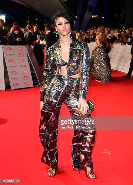 Vick Hope attending the National Television Awards 2018 held at the O2 Arena London PRESS ASSOCIATION Photo Picture date Tuesday January 23 2018 See...
