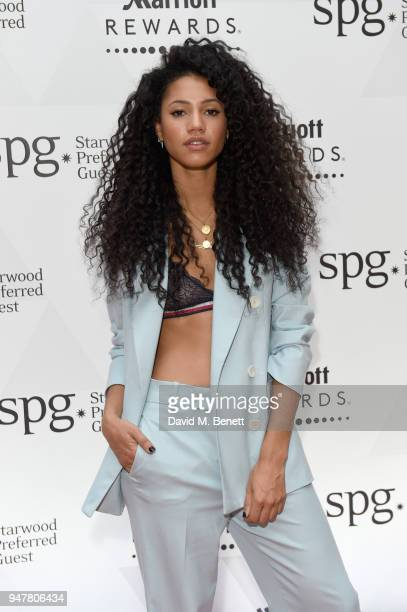 Vick Hope attends as Marriott International celebrates worldclass loyalty programme with event including exclusive performance from Rag'n'Bone Man at...