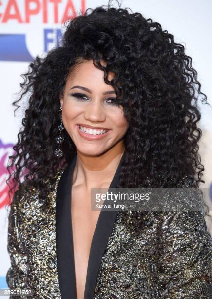 Vick Hope attends the Capital FM Jingle Bell Ball with CocaCola at The O2 Arena on December 9 2017 in London England