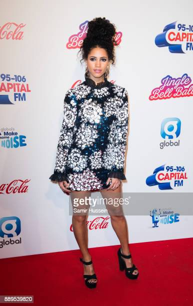 Vick Hope attends the Capital FM Jingle Bell Ball with CocaCola at The O2 Arena on December 10 2017 in London England