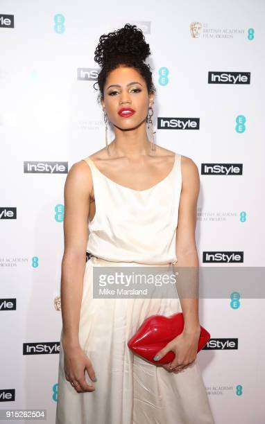 Vick Hope attends the EE InStyle Party held at Granary Square Brasserie on February 6 2018 in London England