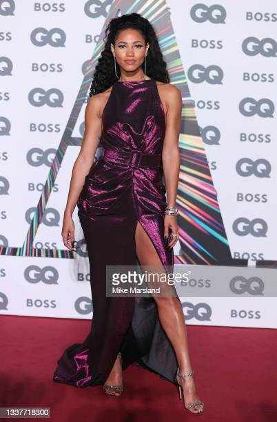 Vick Hope attends the GQ Men Of The Year Awards 2021 at Tate Modern on September 01, 2021 in London, England.