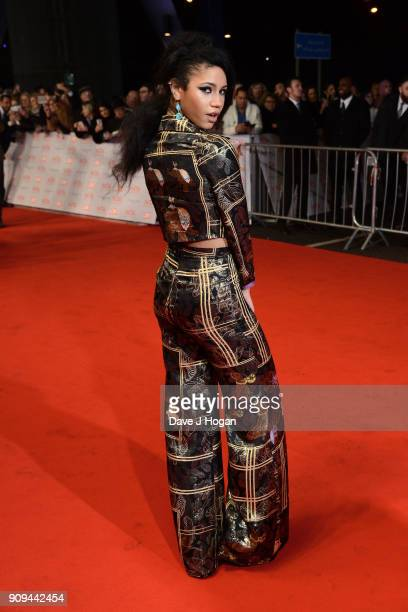 Vick Hope attends the National Television Awards 2018 at The O2 Arena on January 23 2018 in London England