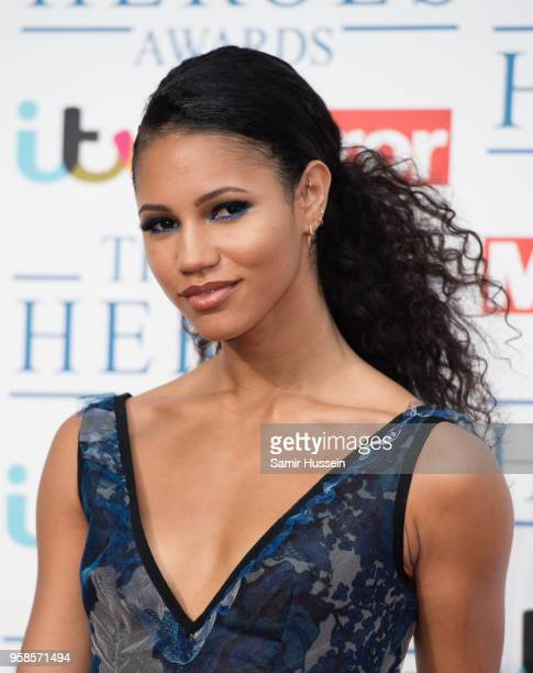 Vick Hope attends the 'NHS Heroes Awards' held at the Hilton Park Lane on May 14 2018 in London England