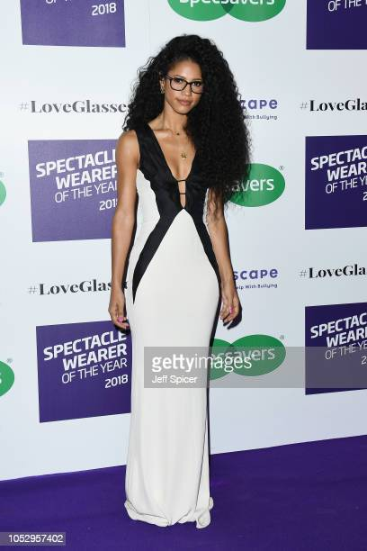 Vick Hope attends the Specsavers 'Spectacle Wearer Of The Year' at 8 Northumberland Avenue on October 24 2018 in London United Kingdom