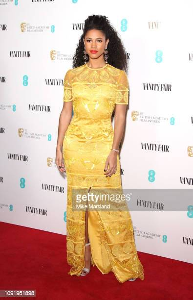 Vick Hope attends the Vanity Fair EE Rising Star Party at The Baptist on January 31 2019 in London England
