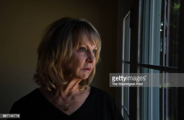 Vicki Bishop at her home in Clarksburg Maryland For a story about how to parent when you have a child that is opioid addicted Bishop's son Brian died...