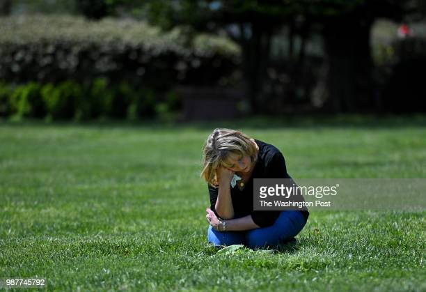 Vicki Bishop visits the grave of her son Brian at Parklawn Memorial in Rockville Maryland She goes about every week or so to visit his gravesite For...