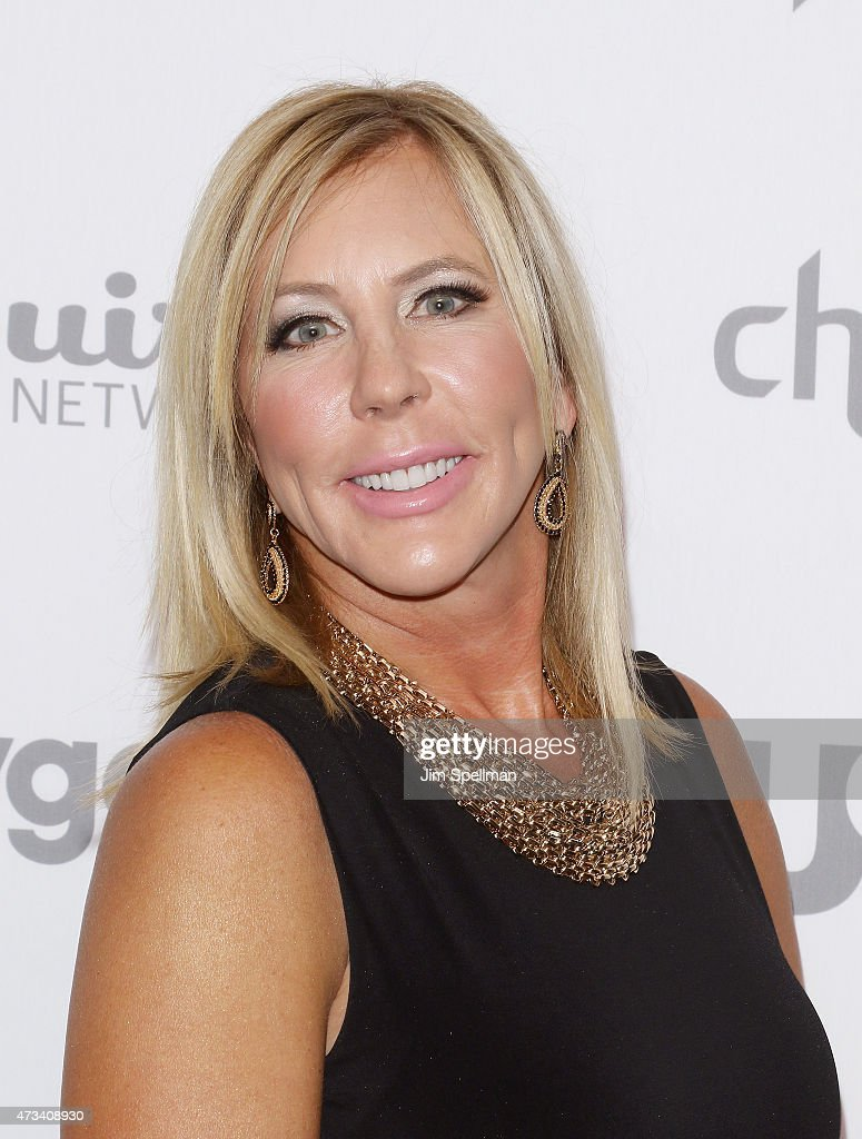 Vicki Gunvalson attends the 2015 NBCUniversal Cable Entertainment Upfront at The Jacob K. Javits Convention Center on May 14, 2015 in New York City.