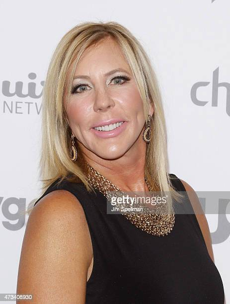 Vicki Gunvalson attends the 2015 NBCUniversal Cable Entertainment Upfront at The Jacob K Javits Convention Center on May 14 2015 in New York City