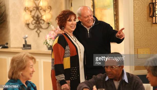 Vicki Lawrence and guest star Max Gail in the Sid Comes Out episode of THE COOL KIDS airing Friday Oct 19 on FOX