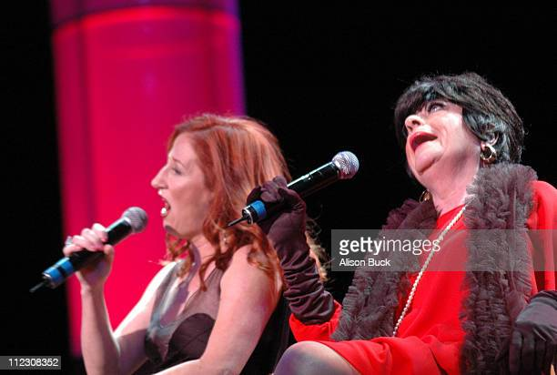 Vicki Lewis and Jo Anne Worley during What a Pair 4 Show at Wiltern/LG Theatre in Los Angeles CA United States