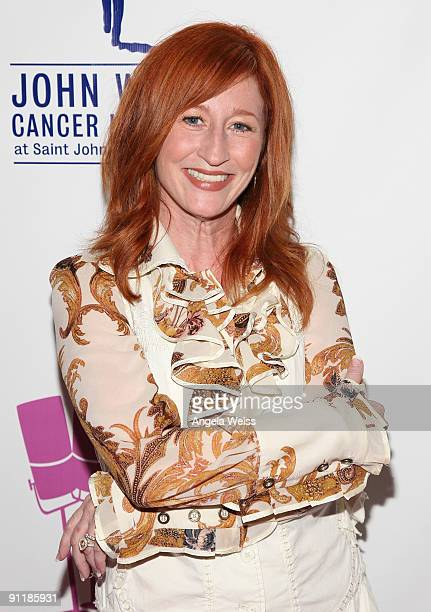 Vicki Lewis arrives at 'What A Pair 7' the seventh annual celebrity concert benefiting the John Wayne Cancer Institute at The Broad Stage on...