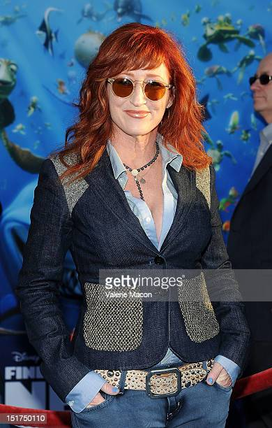 Vicki Lewis attends the premiere of Disney Pixar's Finding Nemo Disney Digital 3D at the El Capitan Theatre on September 10 2012 in Hollywood...