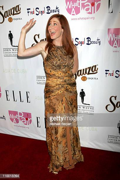 Vicki Lewis during 2007 What a Pair Benefiting the John Wayne Cancer Institute Arrivals and Backstage at The Orpheum Theater in Los Angeles...
