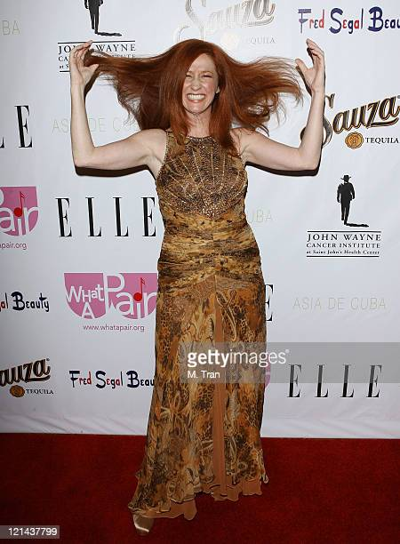 Vicki Lewis during What A Pair 5 at The Orpheum in Los Angeles California United States