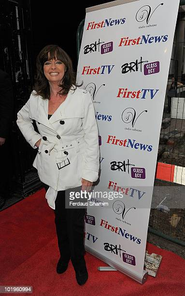 Vicki Michelle attends the First News 4th birthday party at Studio Valbonne on June 10 2010 in London England