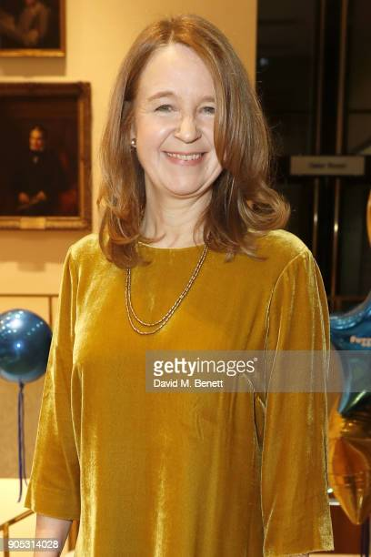 Vicki Pepperdine attends The Writers' Guild Awards 2018 held at Royal College Of Physicians on January 15 2018 in London England