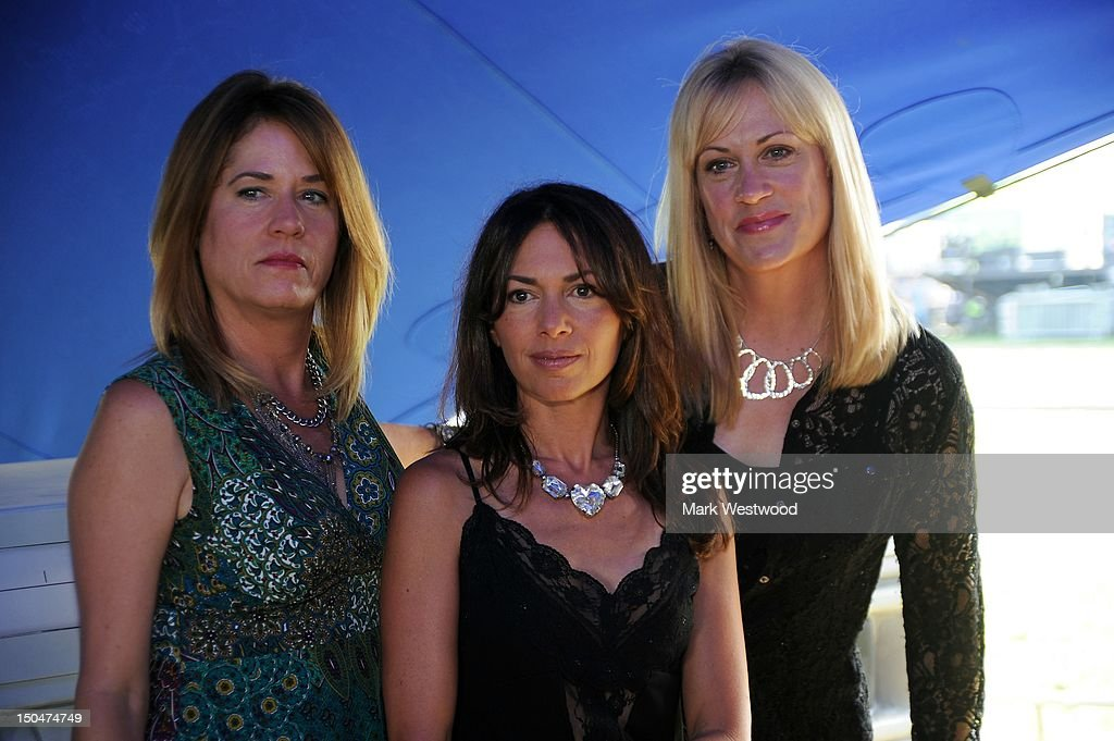 2a53c860be13b Vicki Peterson, Susanna Hoffs and Debbi Peterson of The Bangles pose ...