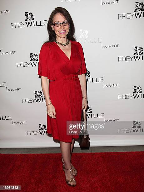 Vicki Roberts attends Frey Wille Rodeo Drive grand opening on February 23 2012 in Beverly Hills California