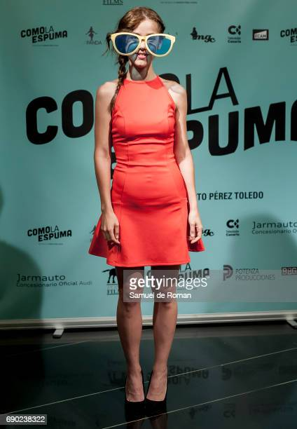 Vicki Velilla attends 'Como La Espuma' Madrid Photocall on May 30 2017 in Madrid Spain