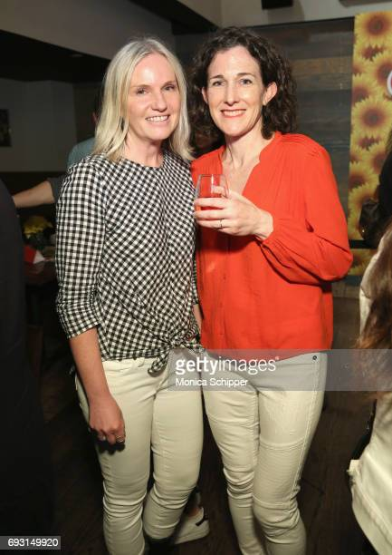 Vicki Wellington and Maile Carpenter attend The Pioneer Woman Magazine Celebration with Ree Drummond at The Mason Jar on June 6, 2017 in New York...