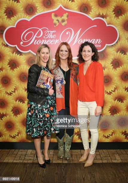 Vicki Wellington, Ree Drummond, and Maile Carpenter attend The Pioneer Woman Magazine Celebration with Ree Drummond at The Mason Jar on June 6, 2017...