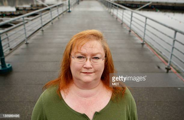 Vicki Ziegler pictured in Renton Washington on Thursday December 15 lost her apartment when she got laid off from her $13anhour sales assistant job...