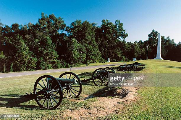 Vicksburg National Military Park on the site of the American Civil War Battle of Vicksburg Mississippi, United States of America.