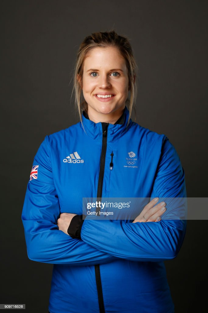 Vicky Adams poses at The Team GB Kitting Out Ahead Of Pyeongchang 2018 Winter Olympic Games on January 24, 2018 in Stockport, England.